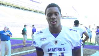2015 JMU Football Media Day - Taylor Reynolds - 8/22/15