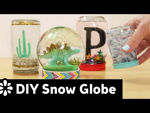 DIY Snow Globe | Sea Lemon