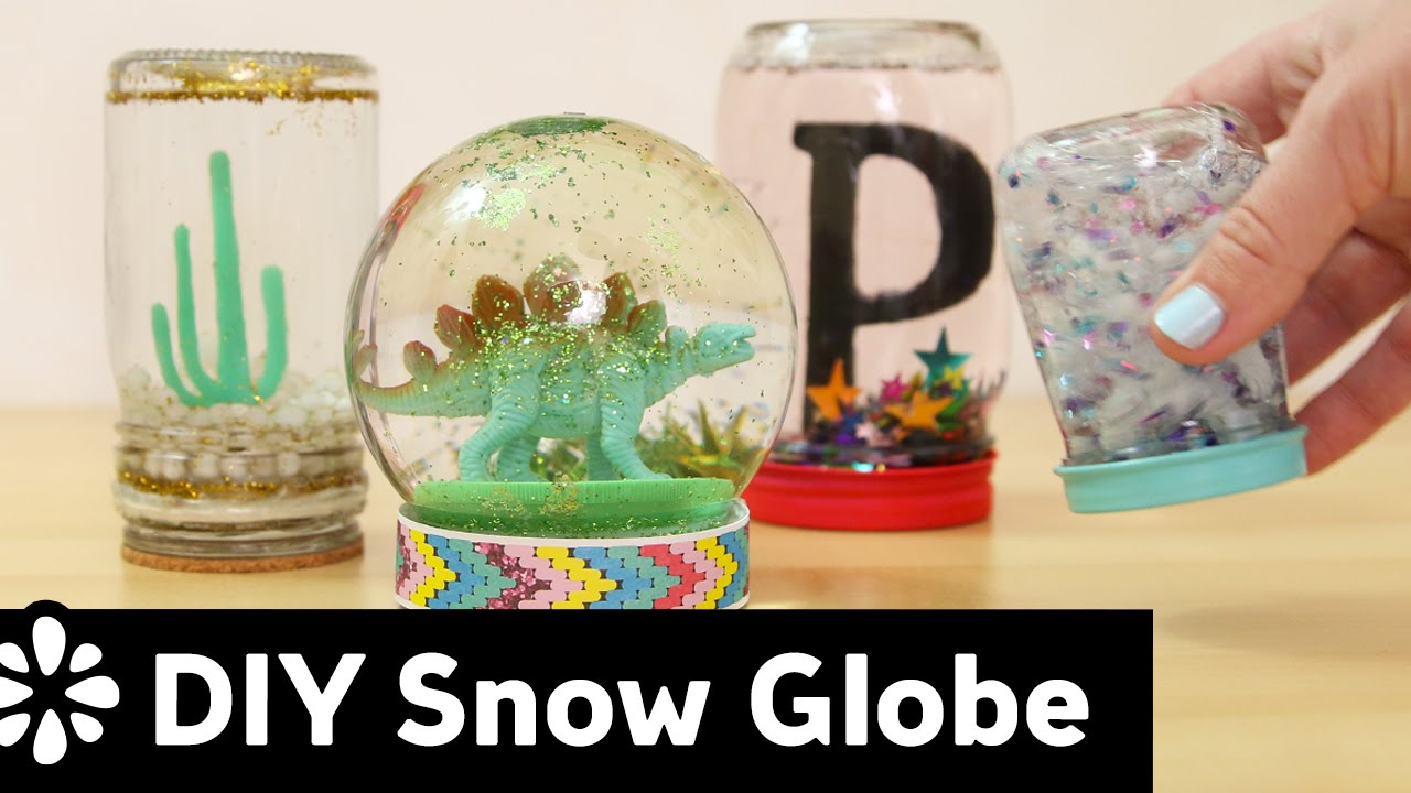 Diy snow globe sea lemon youtube solutioingenieria Gallery