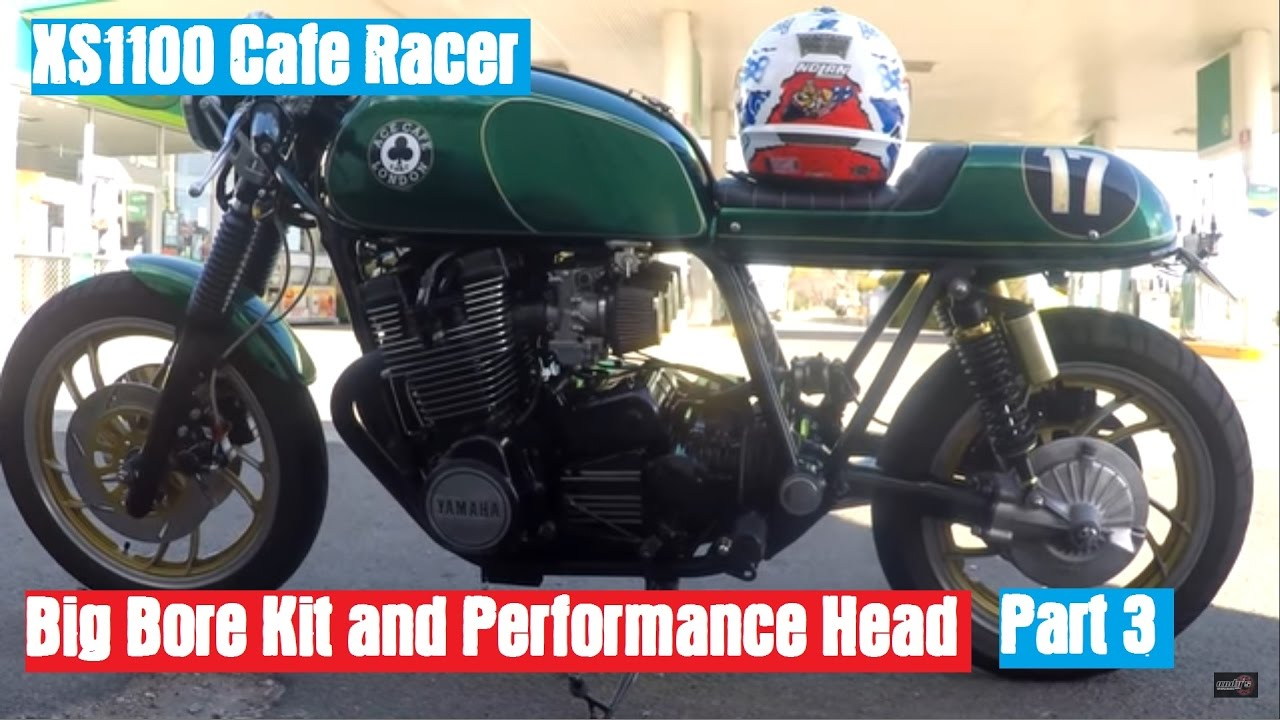 XS1100 Cafe Racer - Fitting the Big Bore Kit and Performance Head Part 3