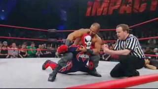 TNA: Suicide vs Sheik Abdul Bashir - X Division Title Match