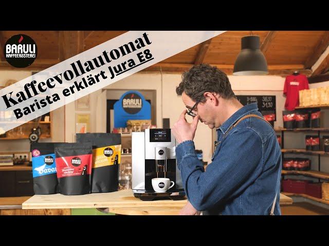 Mr. Baruli testet Kaffeevollautomaten - Jura E8