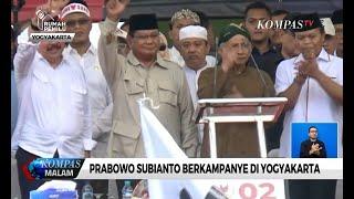 Kampanye di Yogyakarta, Prabowo Kembali Kritik Kebijakan Pemerintah