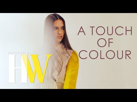 A Touch of Colour | Photoshoot Fashion her world Indonesia X Masari