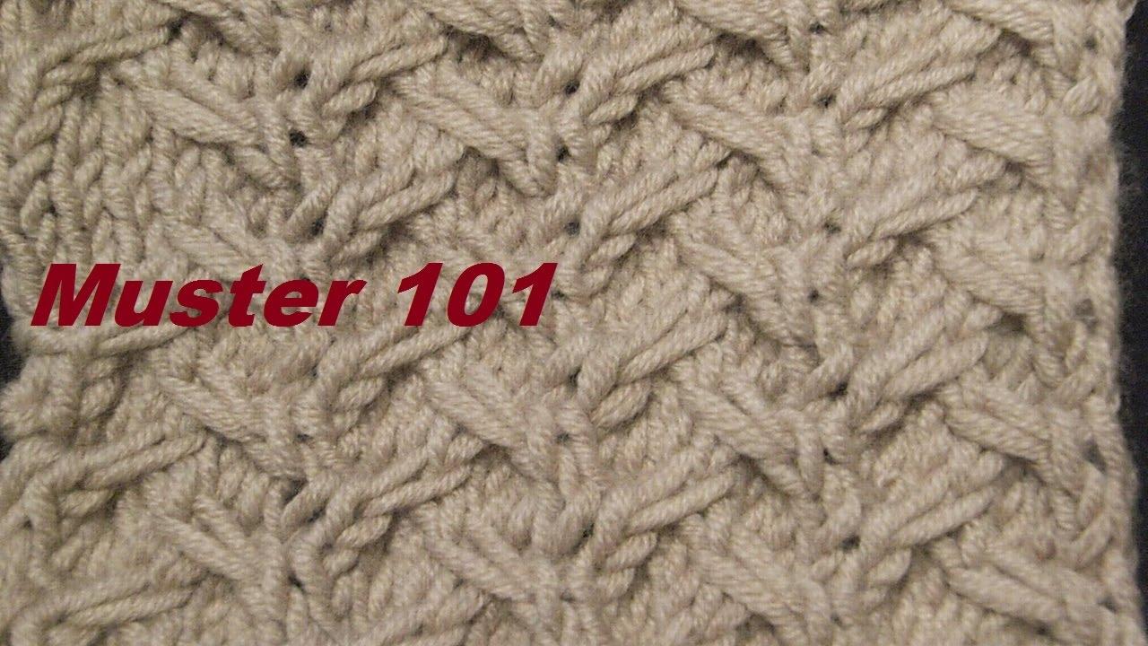 Muster 101* Stricken lernen*Muster für Kinder Socken*Mütze*Tutorial ...