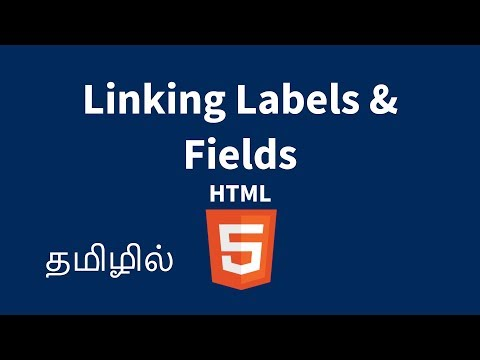 Linking HTML Form Fields And Labels Using