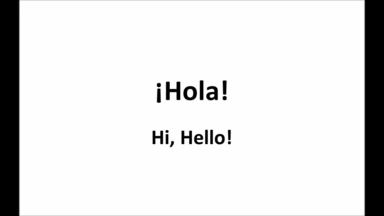 Greetings in spanish hello good bye good morning good afternoon greetings in spanish hello good bye good morning good afternoon kristyandbryce Image collections