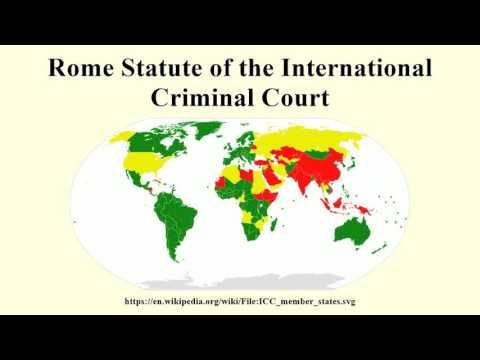 Rome Statute of the International Criminal Court
