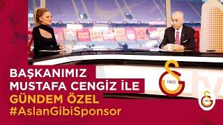 📺 Başkanımız Mustafa Cengiz ile GÜNDEM ÖZEL AslanGibiSponsor