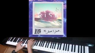 Download Lagu Jonas Blue ft Jack & Jack - Rise (Jarel Gomes Piano) Mp3