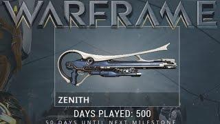 Warframe - Zenith (500 Days Played Reward)