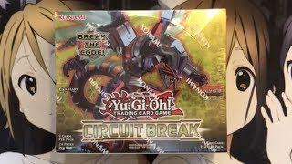 Opening My Circuit Break Yugioh Booster Box TCG Crazy Pulls!