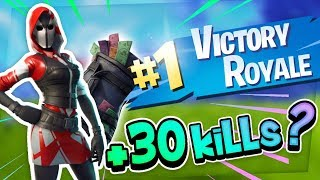 Fortnite - IF ON FACT OF 30 KILLS I MUST BUY THE NEW PACK!!