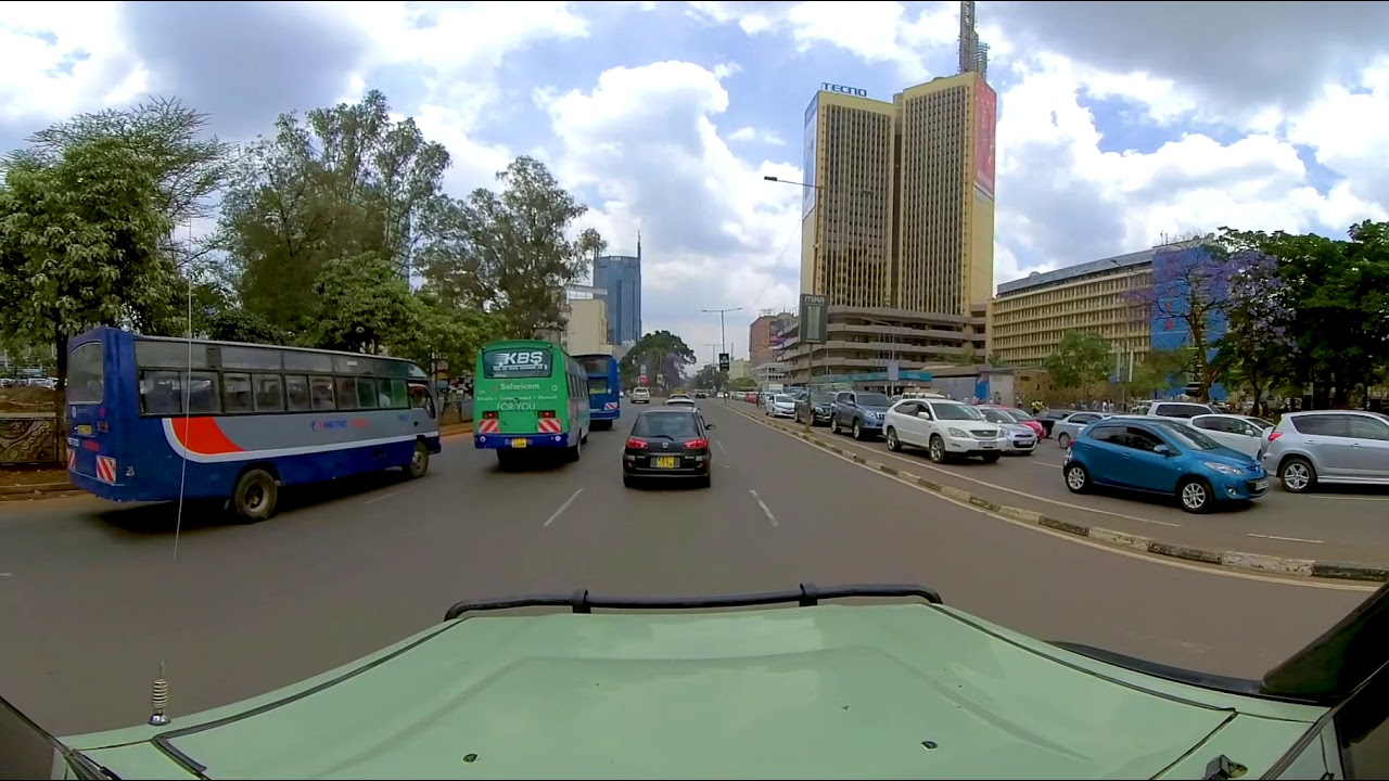 2. 360-degree Virtual Reality Trip to Kenya - GOOD MORNING, NAIROBI
