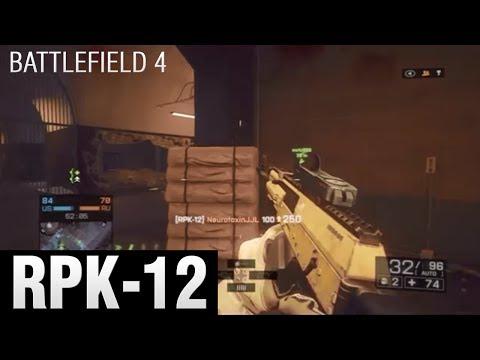 Battlefield 4 - RPK-12 Gameplay/Live Commentary - Operation Locker