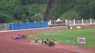 荃灣區分齡賽2016(田灣始南)洛言400米決賽