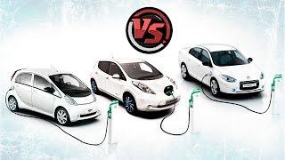 nissan Leaf vs Renault Fluence ZE - DDrive - сравнение электромобилей