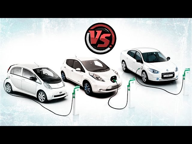Nissan Leaf VS Renault Fluence ZE VS Peugeot Ion. Сравнительный тест