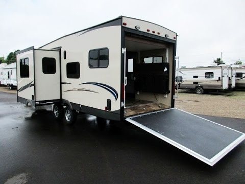 HaylettRV.com - 2016 Freedom Express 301BLDS Ultralite Toy Hauler Travel Trailer by Coachmen RV