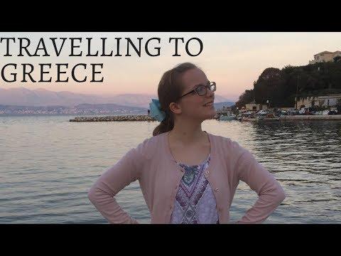 Travelling to Corfu, Greece / Villa Room Tour (Vlog)