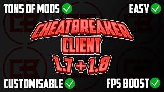 CheatBreaker Client REMAKE (FPS BOOST, KEYSTROKES, CPS+FPS MOD) [Minecraft 1.7/1.8]