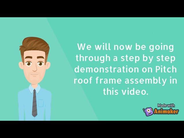 Frame Assembly Part 2: Pitch Roof Frame Assembly