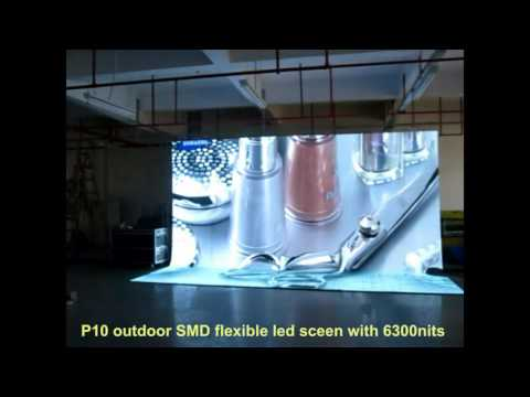 How to install and apply Flexible LED Stage Screens