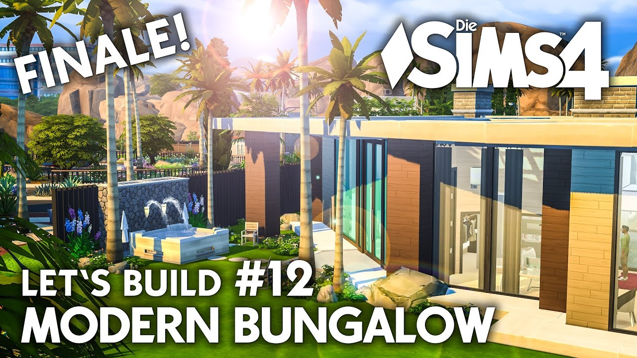 whirlpool garten die sims 4 haus bauen modern bungalow 12 let 39 s build deutsch youtube. Black Bedroom Furniture Sets. Home Design Ideas