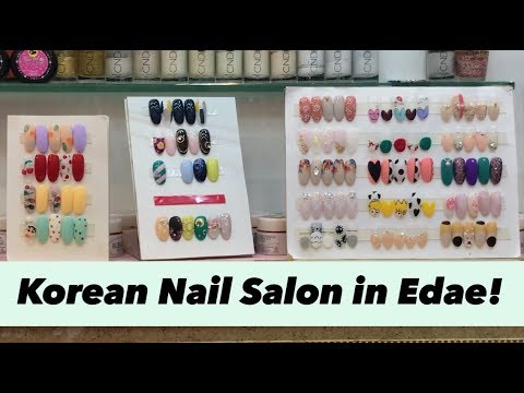korean nail salon - linji