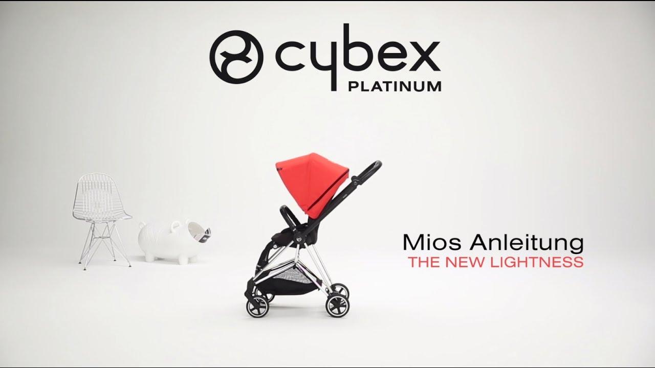 cybex kinderwagen mios anleitung youtube. Black Bedroom Furniture Sets. Home Design Ideas