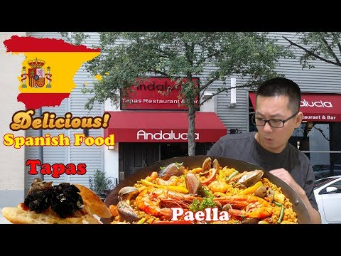 Trying Tapas & Paella For The First Time @ Andalucía Tapas Restaurant & Bar   Houston, Texas
