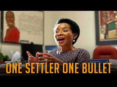 "UCT Post Graduate | ""One Settler One Bullet"" 