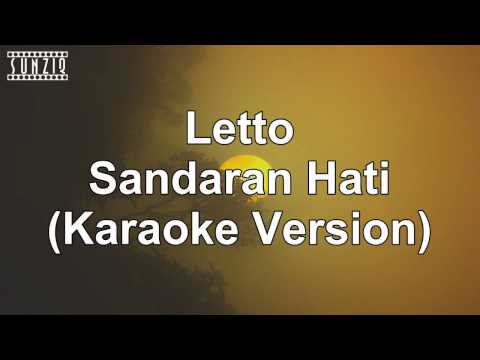 Letto - Sandaran Hati (Karaoke Version + Lyrics) No Vocal #sunziq