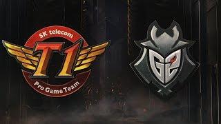 MSI 2019: Fase de Grupos - Dia 3 | SK telecom T1 x G2 Esports (12/05/2019)