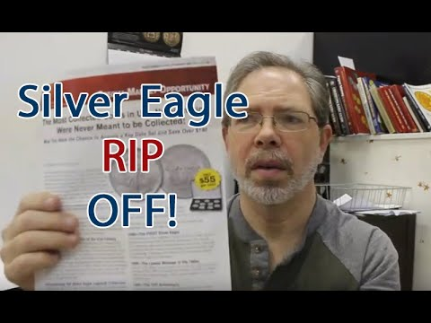 Silver Eagle RIP OFF! $495 For Silver Eagles Don't Do This!