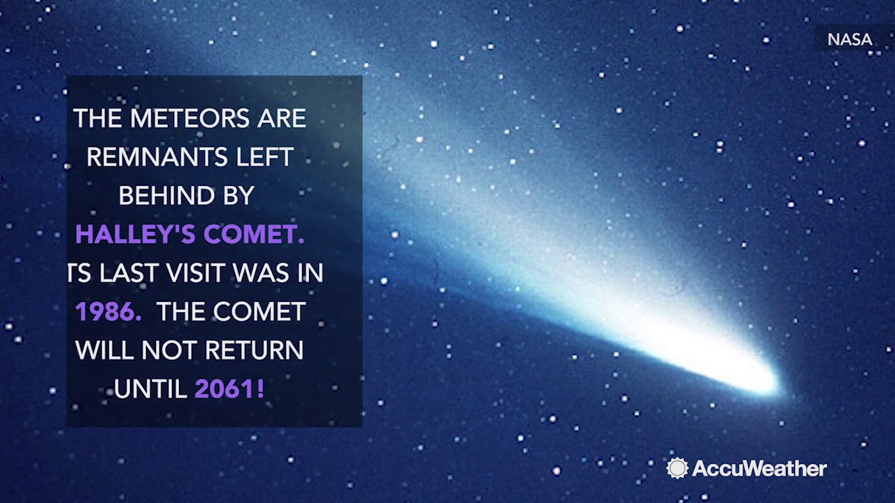 Orionids: The meteor shower from Halley's Comet - YouTube