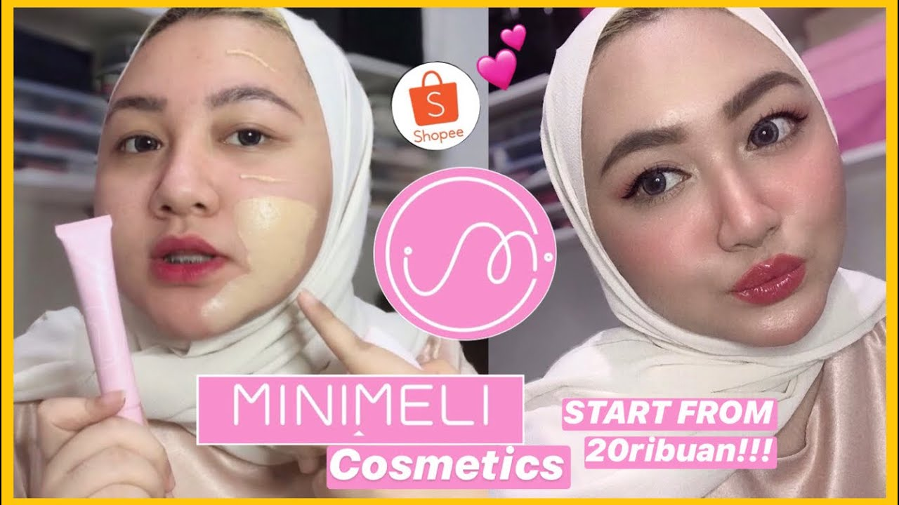 MINIMELI COSMETICS One Brand MakeUp Tutorial & Review | Bahasa Indonesia | DienDiana
