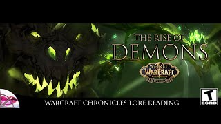 World of Warcraft Chronicles | The Rise of Demons | Lore Reading