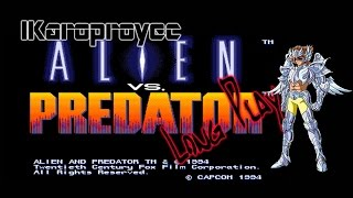 Alien VS Predator - Long Play - Arcade 1994
