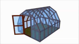 Barn Greenhouse Plans