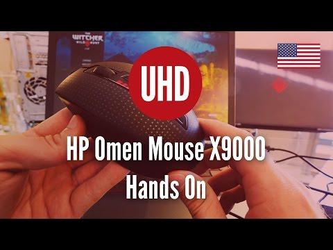 HP Omen Mouse X9000 Hands On [4k UHD] - YouTube