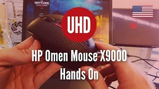 HP Omen Mouse X9000 Hands On [4k UHD]