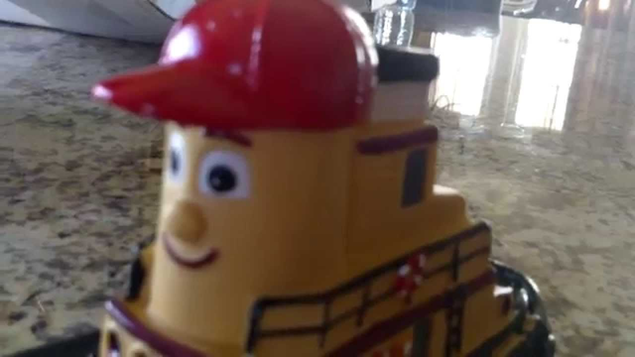 my review of theodore tugboat toys - YouTube