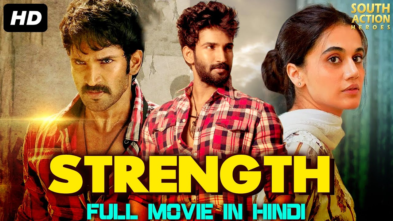 STRENGTH - Hindi Dubbed Action Full Movie | Aadhi Pinisetty | South Indian Movies Dubbed In Hindi