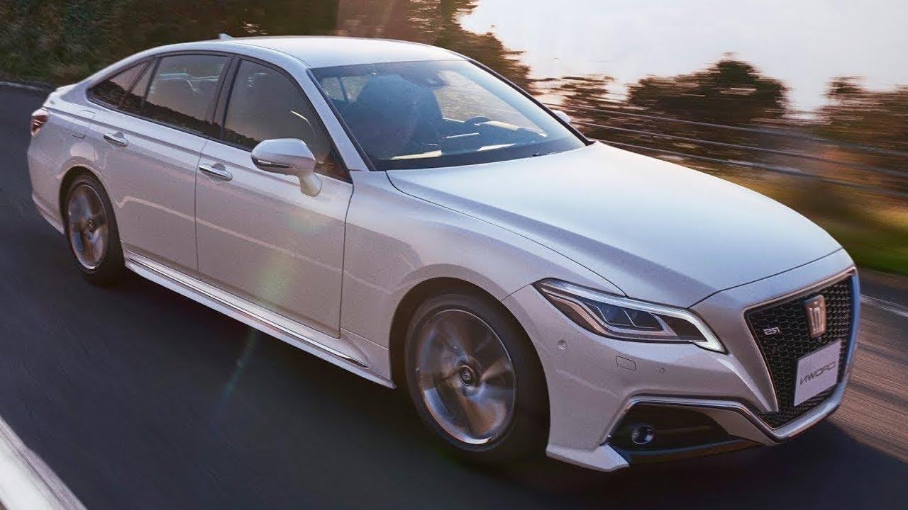 2019 toyota crown - interior premium sedan from japan