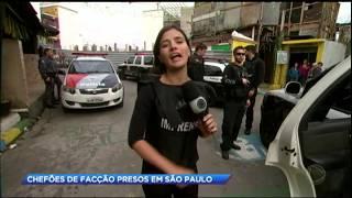 Polícia prende chefões de facção criminosa em São Paulo