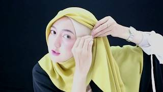 Tutorial Hijab Segi Empat Simple Nan Modis