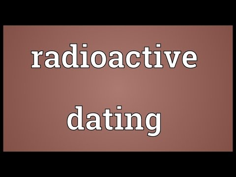 Radioactive dating Meaning from YouTube · Duration:  16 seconds