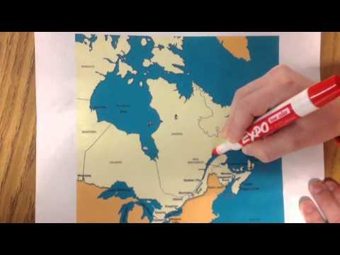 Samuel de Champlain's Route