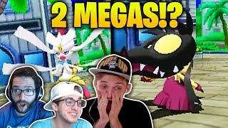 1 TRAINER HAS 2 MEGAS!? | Pokémon Ultra Sun and Moon Randomizer Nuzlocke TRIPLE THREAT #3